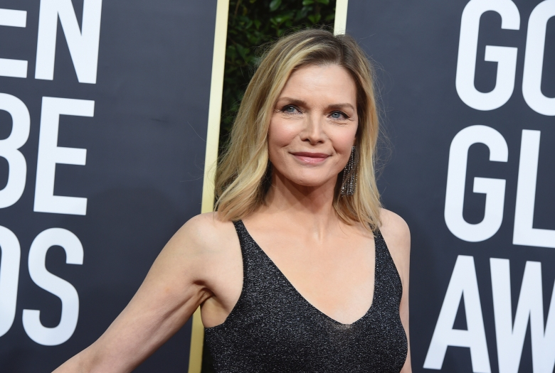 Michelle Pfeiffer arrives at the 77th annual Golden Globe Awards at the Beverly Hilton Hotel on Sunday, Jan. 5, 2020, in Beverly Hills, Calif. (Photo by Jordan Strauss/Invision/AP)