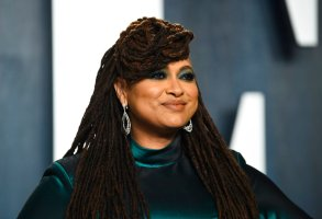 FILE - In this Sunday, Feb. 9, 2020, file photo, Ava DuVernay arrives at the Vanity Fair Oscar Party, in Beverly Hills, Calif. DuVernay will be honored in October 2020 by MacDowell, which is presenting its inaugural Marian MacDowell Arts Advocacy Award to her media company and arts collective ARRAY. (Photo by Evan Agostini/Invision/AP, File)