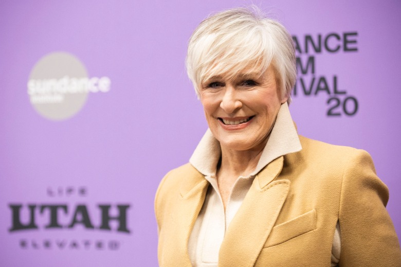 """FILE - Glenn Close attends the premiere of """"Four Good Days"""" during the Sundance Film Festival on Jan. 25, 2020, in Park City, Utah. Close will receive an honorary AARP award for her work with a charity that brings awareness to mental illness. AARP announced Tuesday, Oct. 20, 2020, that Close will be the first to receive its honorary Purpose Prize Award during a virtual ceremony on Dec. 3. (Photo by Arthur Mola/Invision/AP, File)"""