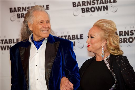 Tanya Tucker and Peter Nygard attend The 2016 Kentucky Derby at the Barnstable Brown Gala on Friday May 6, 2016 in Louisville, Kentucky.(Photo by C Michael Stewart/imageSPACE) *** Please Use Credit from Credit Field ***