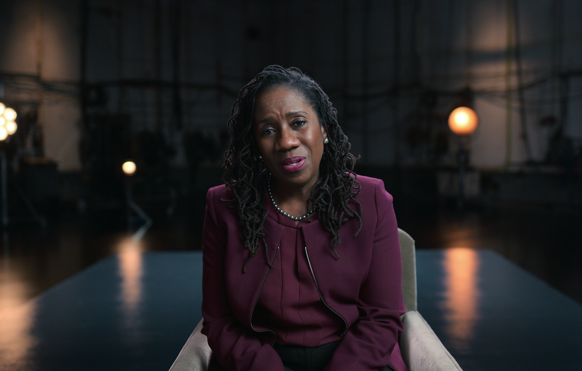 AMEND-The Fight for America; SHERRILYN IFILL, President of the NAACP Legal Defense & Educational fund, from episode 2 of AMEND-The Fight for America. Credit: Courtesy of Netflix/NETFLIX©2021