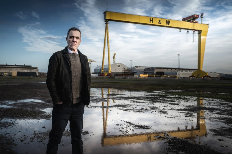 James Nesbitt as Tom Brannick- Bloodlands _ Season 1 - Photo Credit: Steffan Hill/AcornTV
