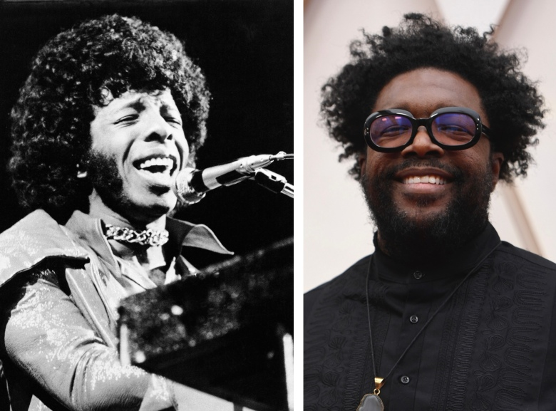 Sly Stone and Questlove