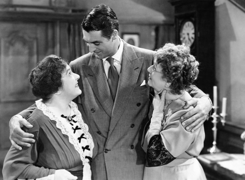 ARSENIC AND OLD LACE, from left: Josephine Hull, Jean Adair, 1944