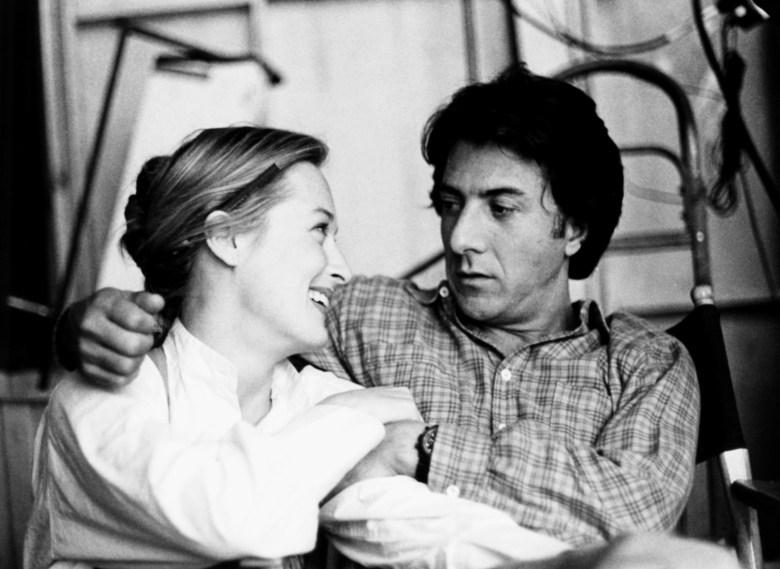 KRAMER VS. KRAMER, from left, Meryl Streep, Dustin Hoffman, 1979, ©Columbia Pictures/Courtesy: Everett Collection.