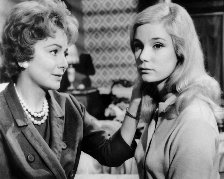 LIGHT IN THE PIAZZA, from left: Olivia De Havilland, Yvette Mimieux, 1962