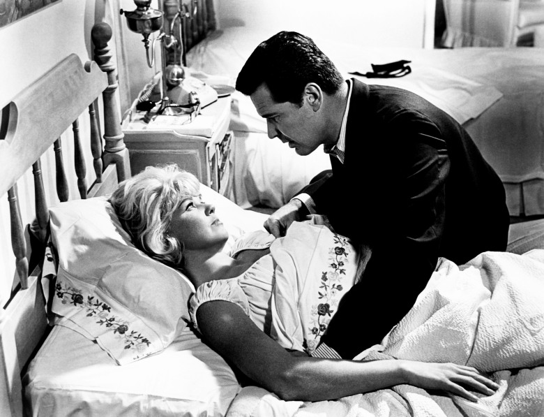 THE THRILL OF IT ALL, from left: Doris Day, James Garner, 1963