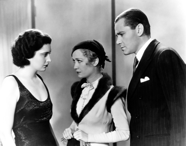TROUBLE IN PARADISE, from left, Kay Francis, Miriam Hopkins, Herbert Marshall, 1932