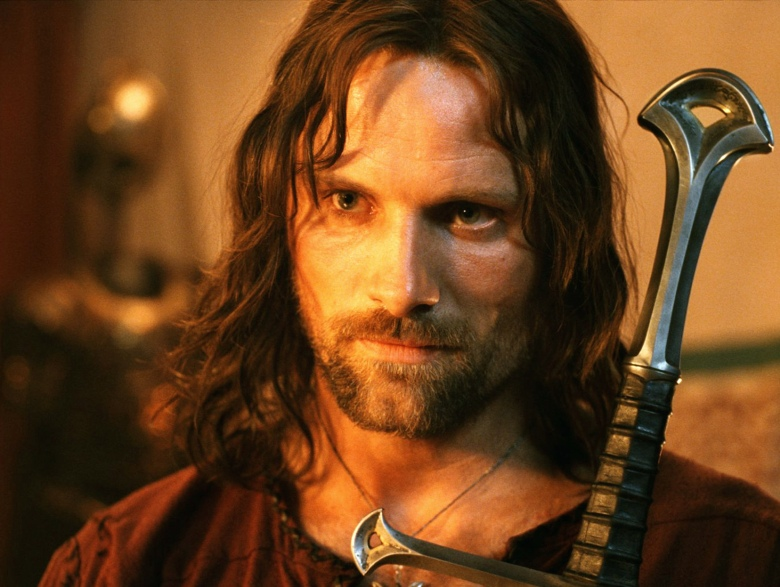 THE LORD OF THE RINGS: THE RETURN OF THE KING, Viggo Mortensen, 2003, (c) New Line/courtesy Everett Collection