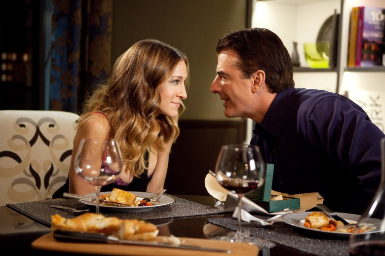 SEX AND THE CITY 2, from left: Sarah Jessica Parker, Chris Noth, 2010. ph: Craig Blankenhorn/©Warner Bros./courtesy Everett Collection