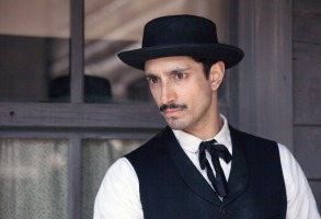 THE SISTERS BROTHERS, Riz Ahmed, 2018. ph: Shanna Besson. © Annapurna Pictures/courtesy Everett Collection.