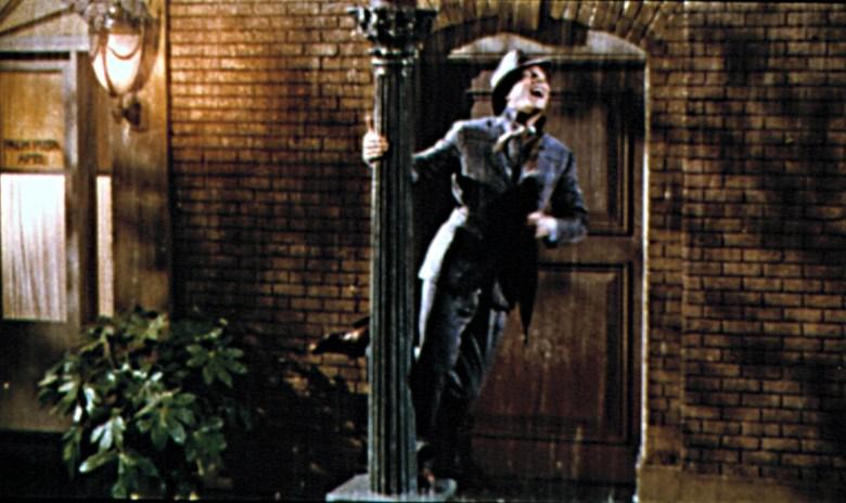 SINGIN' IN THE RAIN, Gene Kelly, 1952.