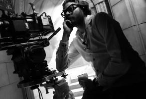 "Erik Messerschmidt on the set of ""Mank"""