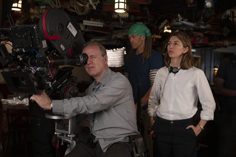 """On the Rocks"" Cinematographer Philippe Le Sourd (with Director Sofia Coppola)"