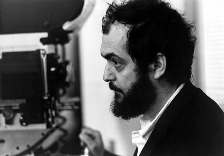 A CLOCKWORK ORANGE, director Stanley Kubrick, on set, 1972