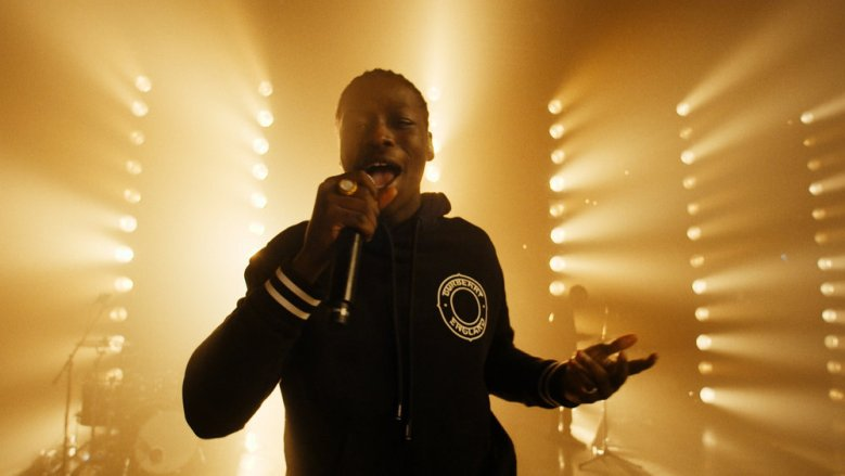 THE TONIGHT SHOW STARRING JIMMY FALLON -- Episode 1392A -- Pictured in this screengrab: Musical guest Pa Salieu performs on January 21, 2021 -- (Photo by: NBC)
