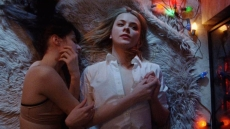 Madeline Quinn and Dasha Nekrasova in The Scary of Sixty-First