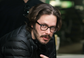 """Edgar Wright on the set of """"Baby Driver"""""""