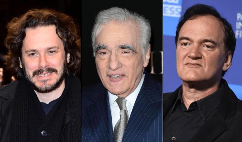 Edgar Wright, Martin Scorsese, and Quentin Tarantino