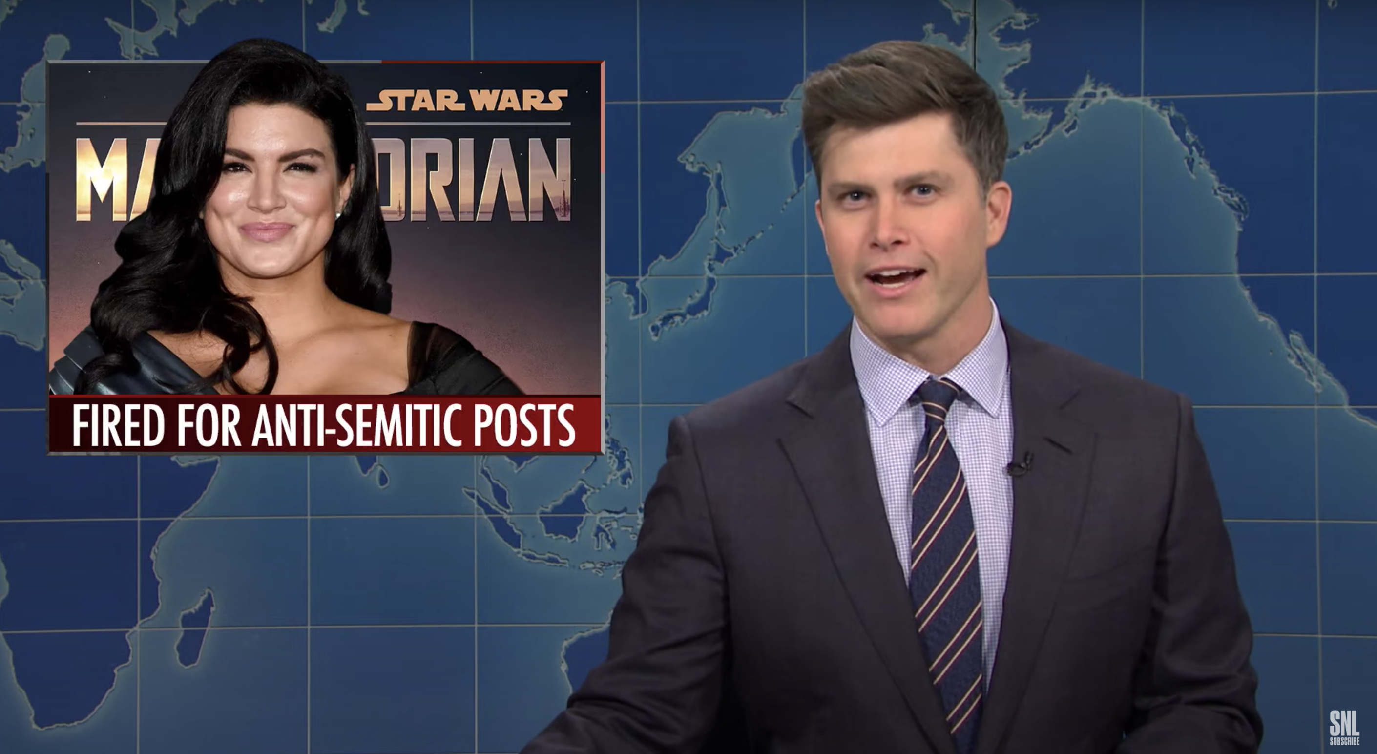 Gina Carano Controversy Gets the 'Saturday Night Live' Treatment in New 'Weekend Update' — Watch - IndieWire