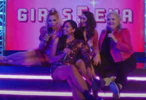 Busy Philipps, Renee Elise Goldsberry, Sara Bareilles, Paula Pell