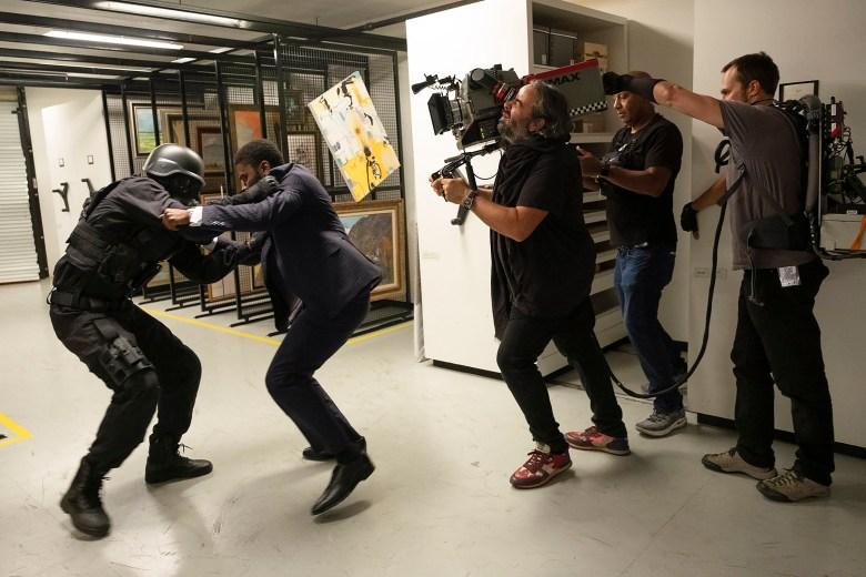 """Tenet"" Cinematographer Hoyte Van Hoytema (Operating Camera)"