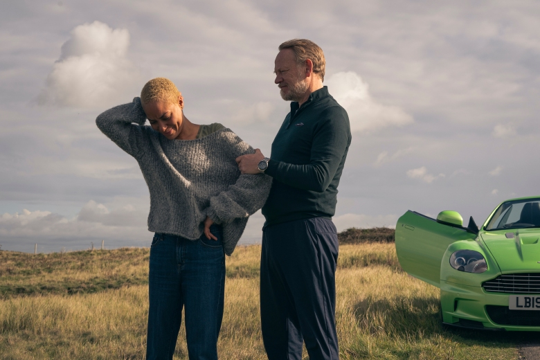 Cush Jumbo Frances,  Jared Harris as George - The Beast Must Die_Season 1, Episode 2 - Photo Credit: Gareth Gatrell/AMC