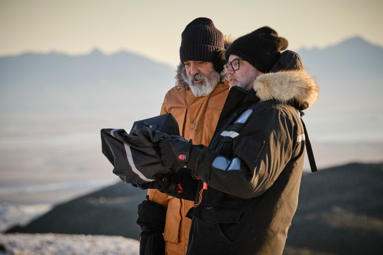 """The Midnight Sky"" Cinematographer Martin Ruhe (with Director/Actor George Clooney)"