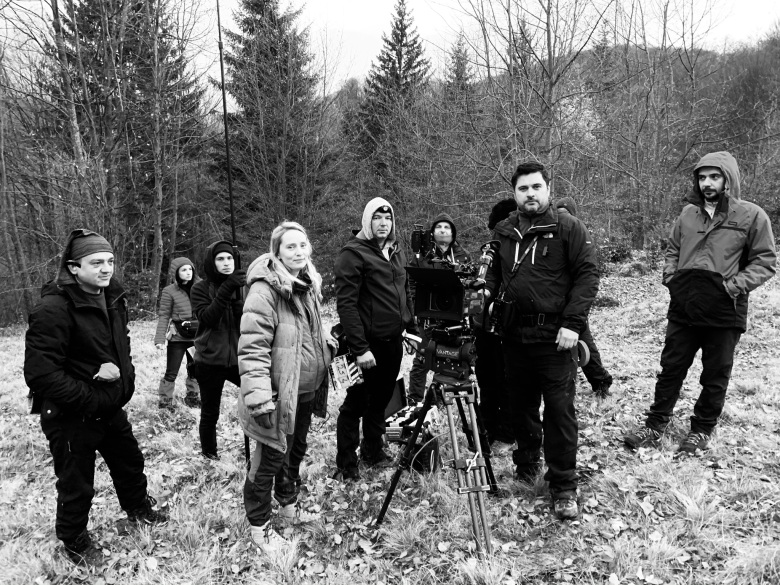 """The World To Come"" Cinematographer Andre Chemetoff (with Director Mona Fastvold and crew)"