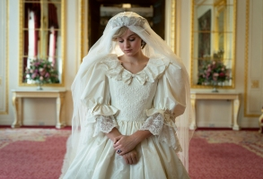 The Crown S4. Picture shows: Princess Diana (EMMA CORRIN)