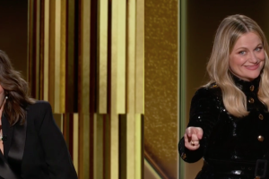 Golden Globes: Tina Fey and Amy Poehler Orchestrate a Socially Distant Opening Monologue