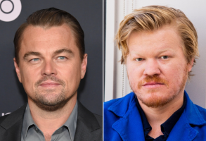 Leonardo DiCaprio and Jesse Plemons