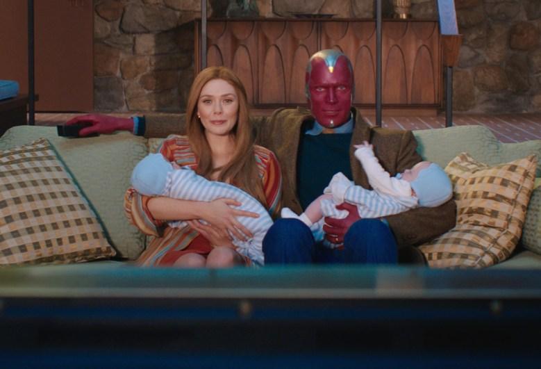 WandaVision Disney+ Elizabeth Olsen Paul Bettany
