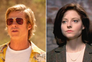 """Once Upon a Time in Hollywood"" and ""Silence of the Lambs"""
