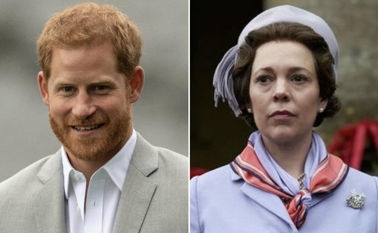 Принц Гарри признает, что «Корона» дает «грубое представление» о тяготах королевской жизни