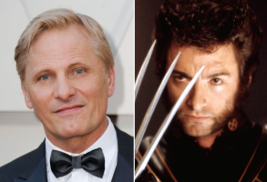 """Viggo Mortensen and Wolverine in """"X-Men"""""""