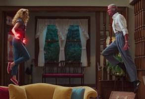 WandaVision Episode 5 Paul Bettany Elizabeth Olsen