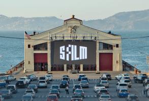 San Francisco Film Festival drive in