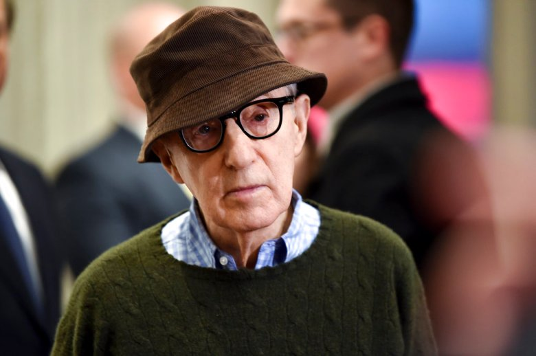 """Director Woody Allen attends a special screening of """"Wonder Wheel"""", hosted by Amazon Studios, at the Museum of Modern Art on Tuesday, Nov. 14, 2017, in New York. (Photo by Evan Agostini/Invision/AP)"""