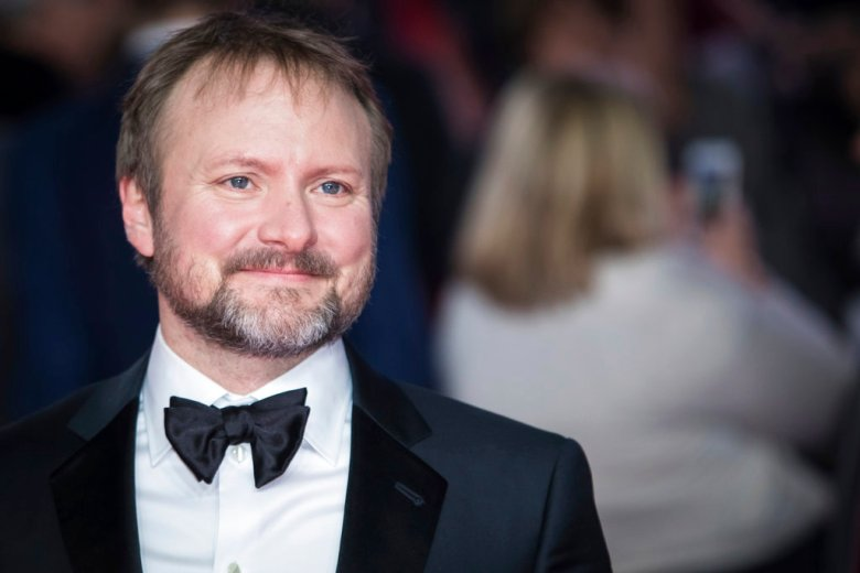 Film director Rian Johnson poses for photographers upon arrival at the premiere of the film 'Star Wars: The Last Jedi' in London, Tuesday, Dec. 12th, 2017. (Photo by Vianney Le Caer/Invision/AP)