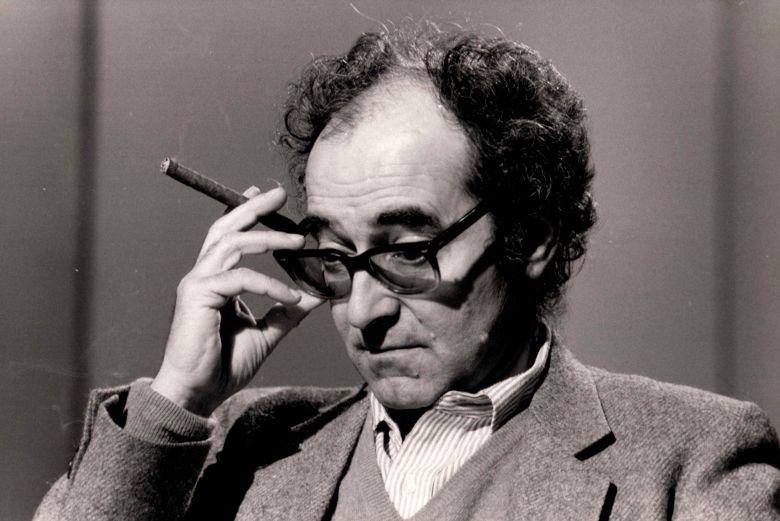 Jean Luc Godard a 7/7 en 1983 PARIS . 1983 (Sipa via AP Images)