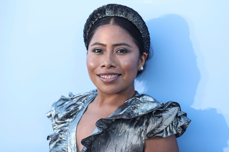 BROOKLYN, NEW YORK CITY, NEW YORK, USA - SEPTEMBER 11: Yalitza Aparicio arrives at the Michael Kors Collection Spring 2020 Runway Show during New York Fashion Week: The Shows held at Duggal Greenhouse on September 11, 2019 in Brooklyn, New York City, New York, United States. (Photo by Xavier Collin/Image Press Agency/Sipa USA)(Sipa via AP Images)