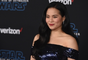 "Kelly Marie Tran arrives at the world premiere of ""Star Wars: The Rise of Skywalker"" on Monday, Dec. 16, 2019, in Los Angeles (Jordan Strauss/Invision/AP)"