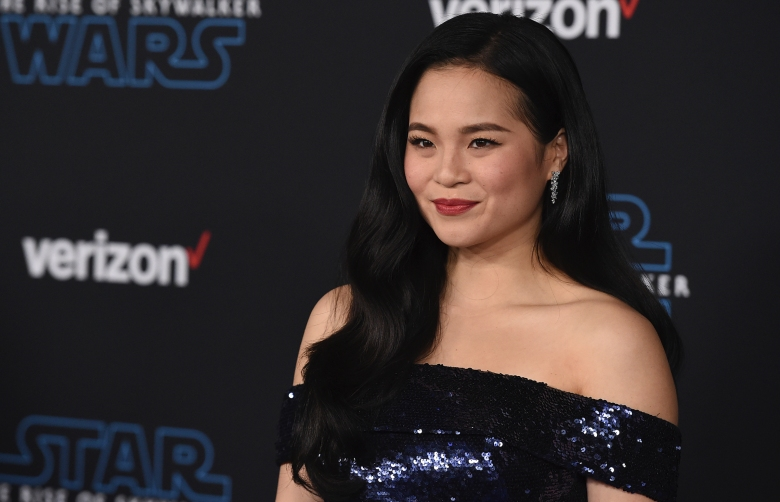 """Kelly Marie Tran arrives at the world premiere of """"Star Wars: The Rise of Skywalker"""" on Monday, Dec. 16, 2019, in Los Angeles (Jordan Strauss/Invision/AP)"""