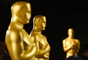 Oscar statues are pictured at the Governors Ball Press Preview for the 92nd Academy Awards at the Dolby Theatre, Friday, Jan. 31, 2020, in Los Angeles. The Academy Awards will be held at the Dolby Theatre on Sunday, Feb. 9. (AP Photo/Chris Pizzello)