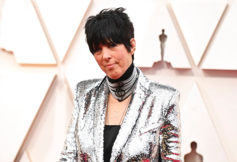 Diane Warren arrives at the Oscars on Sunday, Feb. 9, 2020, at the Dolby Theatre in Los Angeles. (Photo by Richard Shotwell/Invision/AP)