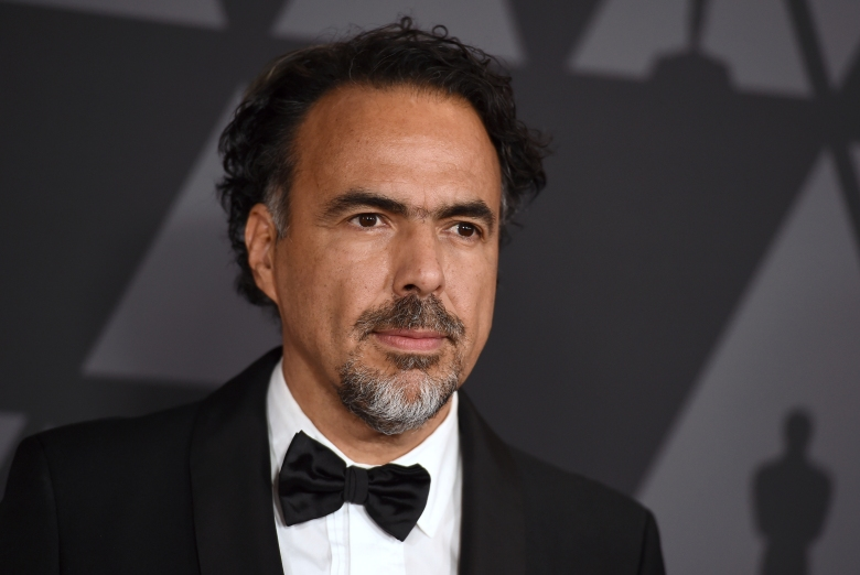 """FILE - Alejandro Gonzalez Inarritu arrives at the 9th annual Governors Awards in Los Angeles on Nov. 11, 2017. Inarritu inaugurated the Morelia Film Festival 2020 on oct. 28, 2020 with a restored copy of his """"Amores Perros."""" (Photo by Jordan Strauss/Invision/AP, File)"""