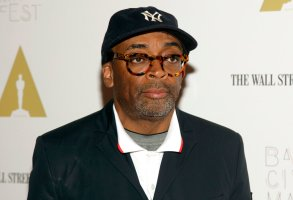 """Director Spike Lee attends a screening of """"Do The Right Thing"""" at BAMcinemaFest 2014 on Sunday, June 29, 2014, in New York. (Photo by Andy Kropa/Invision/AP)"""