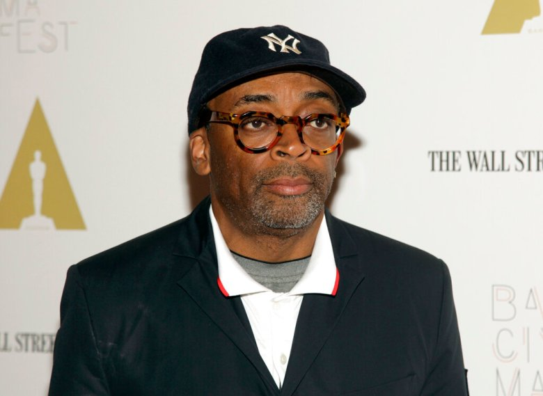 "Director Spike Lee attends a screening of ""Do The Right Thing"" at BAMcinemaFest 2014 on Sunday, June 29, 2014, in New York. (Photo by Andy Kropa/Invision/AP)"
