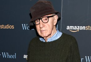 """FILE - Director Woody Allen attends a special screening of """"Wonder Wheel"""" on Nov. 14, 2017, in New York. A docuseries about the relationship of Woody Allen and Mia Farrow and its fallout is coming to HBO. The four-part documentary series is titled """"Allen v. Farrow"""" and will debut Feb. 21, 2021, on HBO. (Photo by Evan Agostini/Invision/AP, File)"""